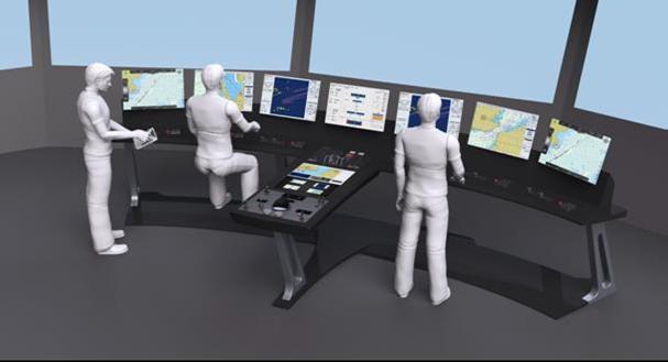 CASCADe R&D Project Develops New Ship Bridge Designs