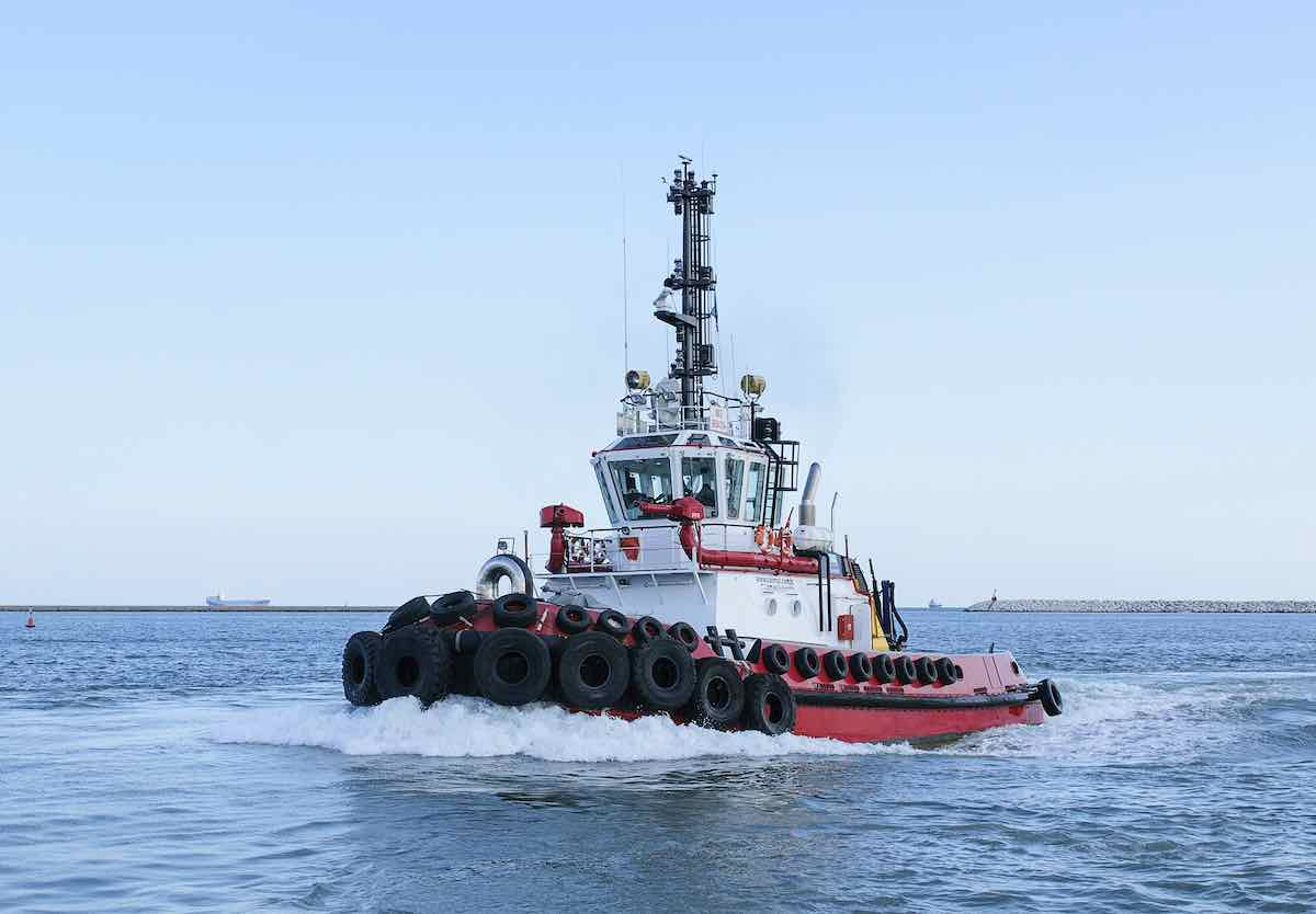 SMS Towage ordering second tug from Sanmar