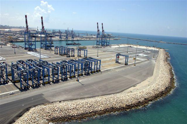 Israeli Haifa and Ashdod ports expect to handle 3.5 million TEU by 2021