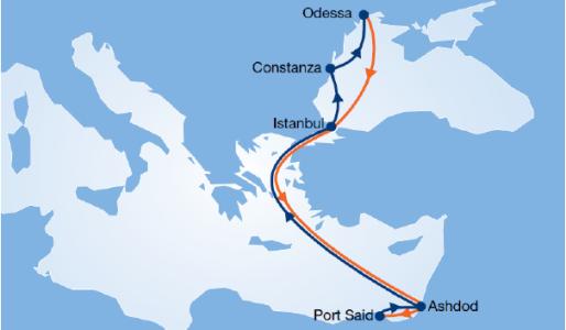 Hapag-Lloyd upgrades eastern Med and Black Sea service February 16