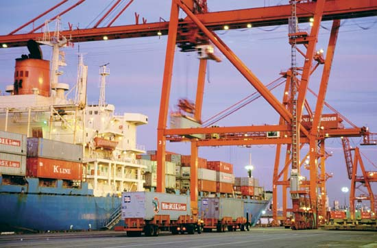 British Columbia box ports achieve 15.2pc growth in November's Asian imports