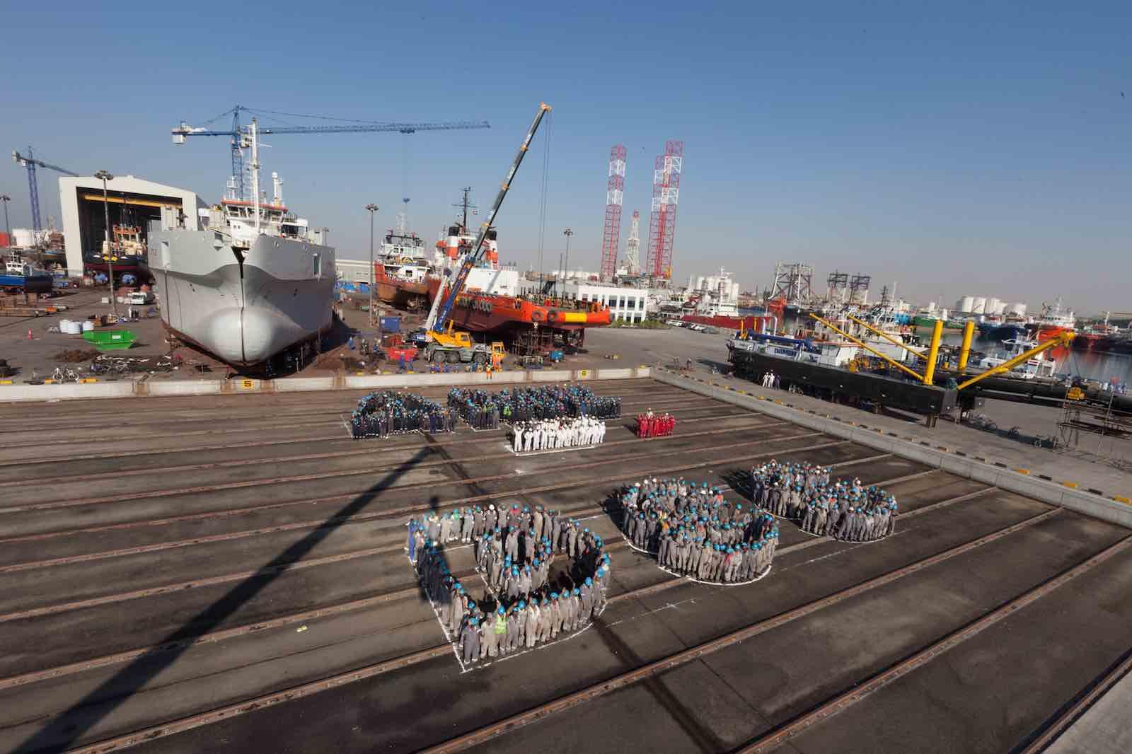 Good year for Damen Shipyards Sharjah