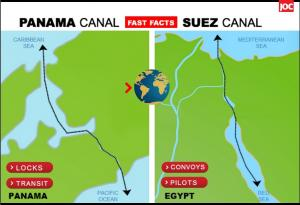 Widened Panama Canal aims to win back market share from Suez Canal