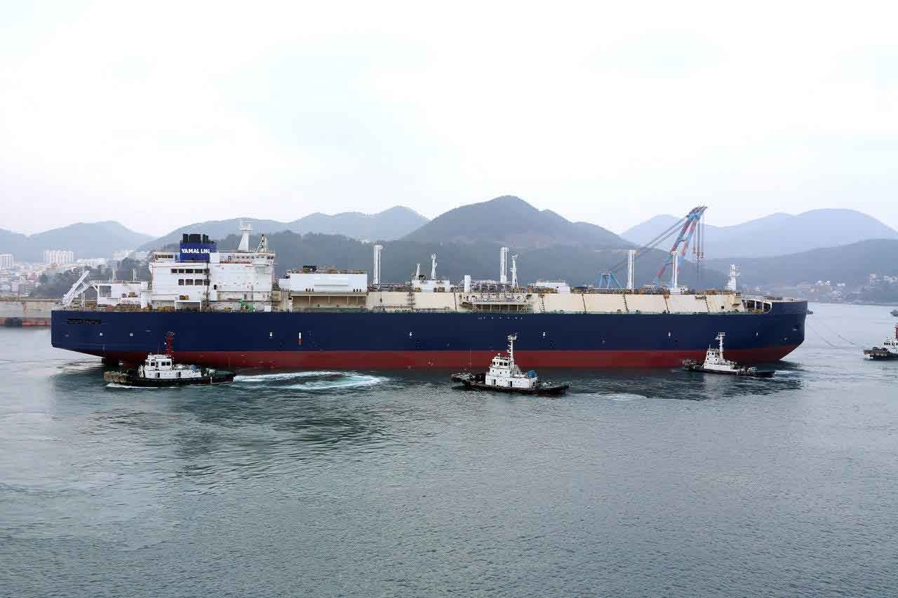ABB powered LNG ice-going carrier launched