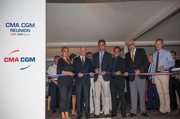 CMA CGM inaugurates its new offices on the Reunion Island