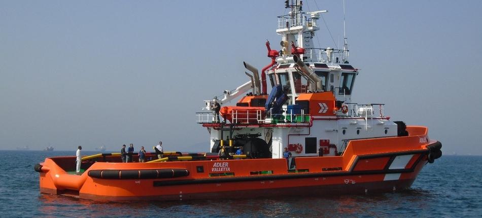 Bogazici delivers ASD tug 'ADLER' to Ocean Group