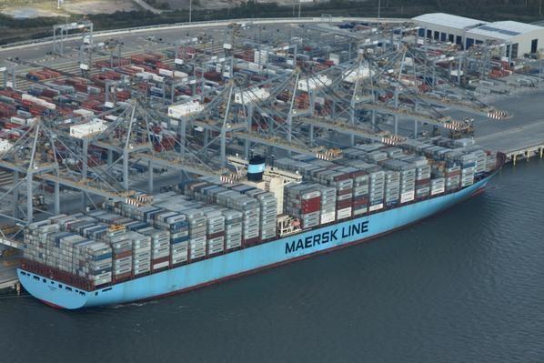 Maersk diverts from Felixstowe to London Gateway as congestion mounts