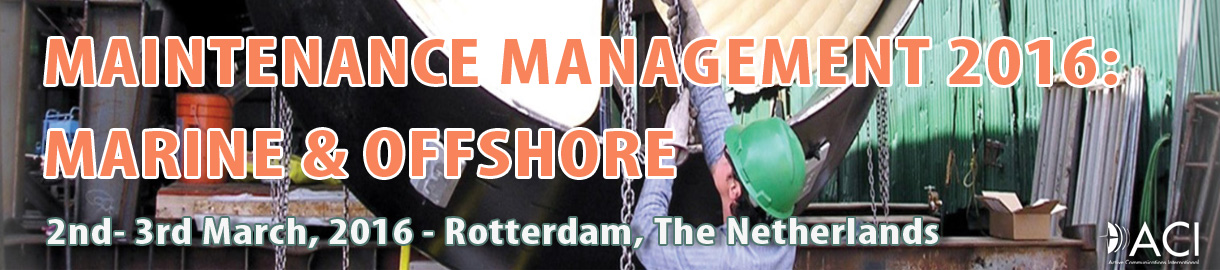 Maintenance Management Summit in Rotterdam from March 2-3