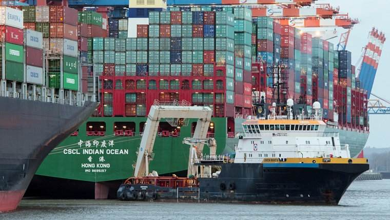 CSCL Indian Ocean: Salvage successful within minutes