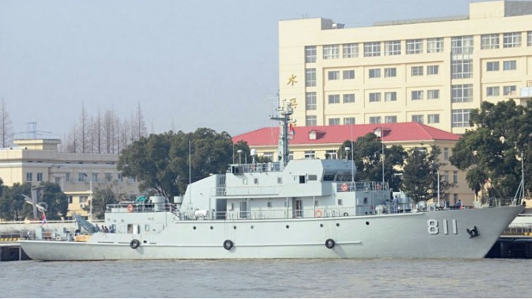 China's PLA Navy launches warship with unmanned capability