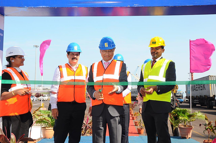 Hanjin puts into Krishnapatnam port for the first time with 3,614-TEUer