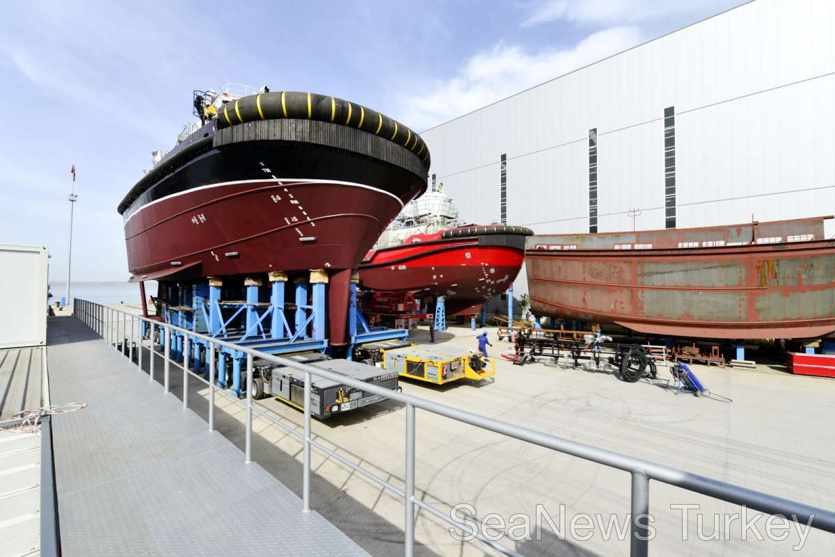 First sister vessel of VectRA 3000 design has been launched to sea