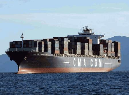 CMA CGM increases Asia-North Europe rate US$500/TEU from April 1