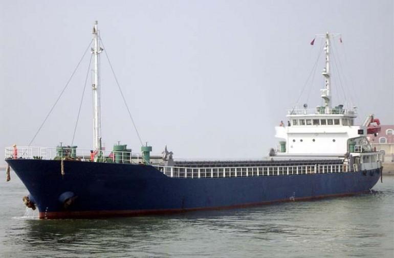 Cargo ship Shenzhou 33 sank, crew safe