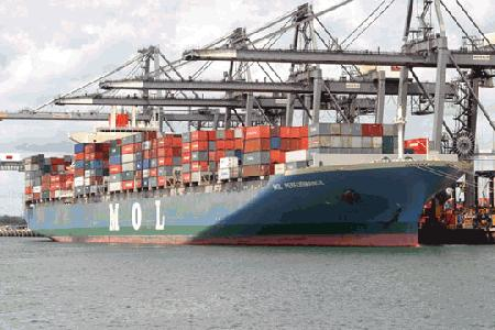 MOL levies US$700 Malaysia to Mexico/WCSA rate hike from April 15