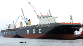 15,908-TEU MSC Venice delivered from STX Shipyard, South Korea
