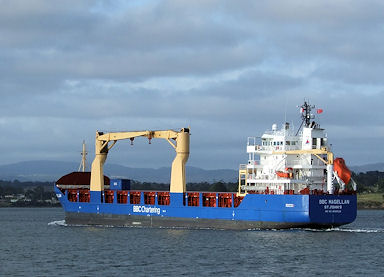 German shipping firms fined US$1.5 million for oil slick, witness tampering