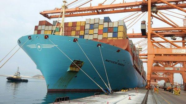 Oman's Port of Salalah receives its biggest ever 18,000-TEUer