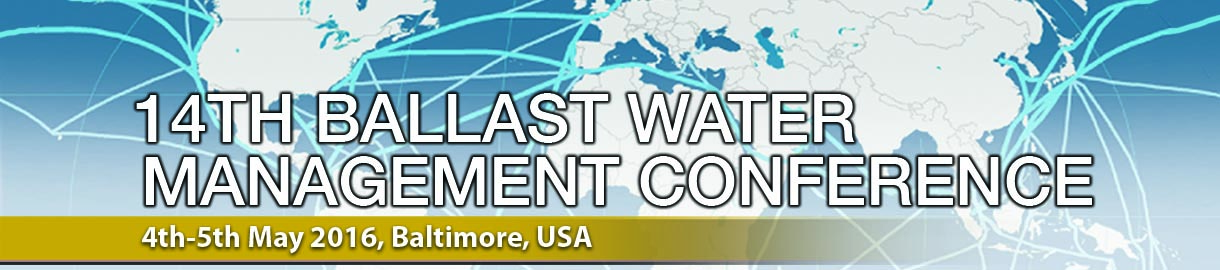 Ballast Water Treatment Conference May 4-5 at Baltimore's Mariott