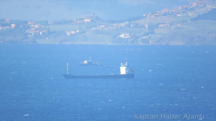 M/V Nova Cura went aground at Musellim Passage, Turkey