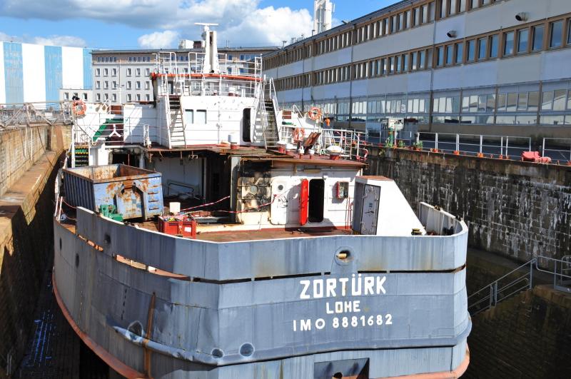 Zortürk to be sent for scrap
