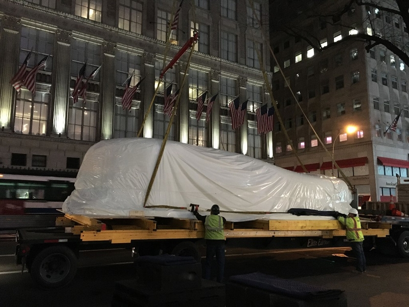 GAC moves 3.5 ton sculpture from Poland to New York