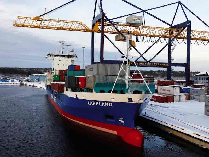 Sweden's Gavle port to expand facilities to container capacity