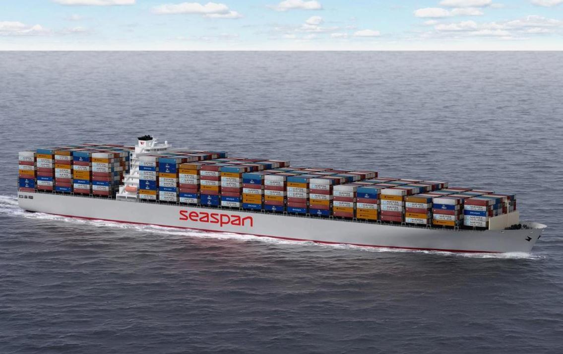 Seaspan Corporation's Q1 revenue up 14pc to US$215 million