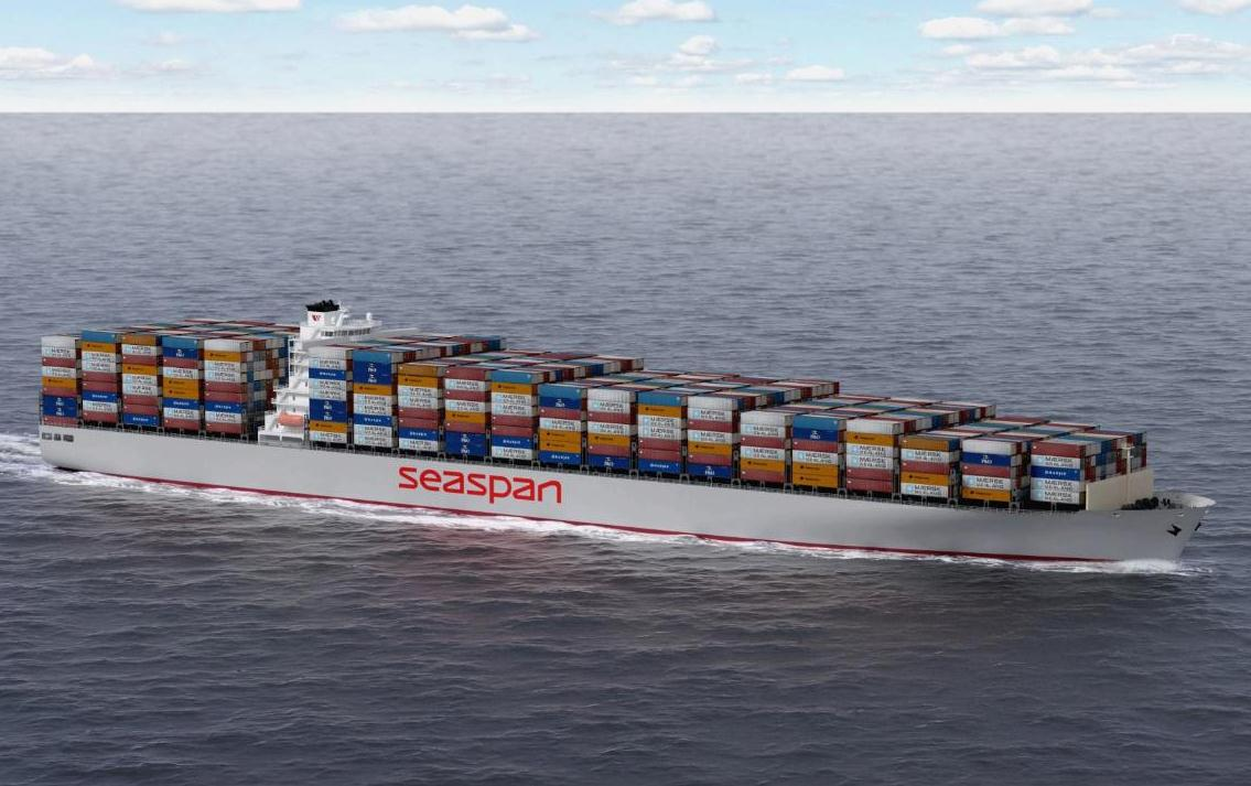 Seaspan receives eighth 14,000 TEUer bound for Yang Ming charter