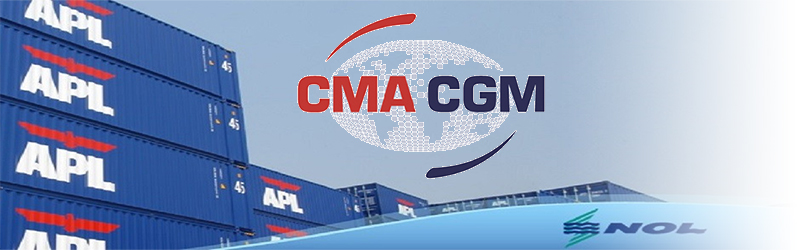 CMA CGM makes bid to buy remaining shares in NOL for US$2.4 billion