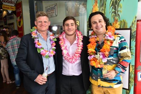 Lion Shipbrokers Ltd celebrated Posidonia in Hawaiian style