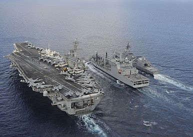 US, India, Japan join naval forces to face South China Sea military buildup