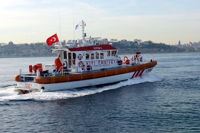 Turkey's Özata Shipyard delivered KIYEM 5 and KIYEM 6 speed lifeboats