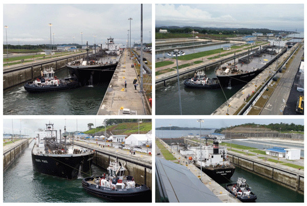 NYK's LPG carrier makes first commercial passage via new Panama Canal