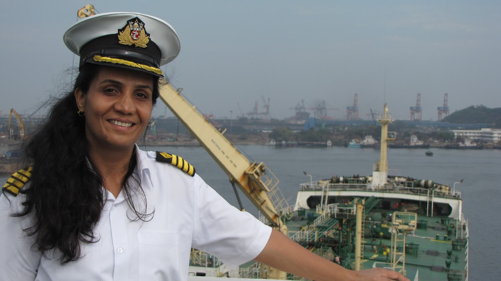 Captain Radhika Menon to receive 2016 IMO Award for Exceptional Bravery at Sea
