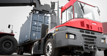 Cargotec wins order for 14 Kalmar T2 terminal tractors from Abu Dhabi