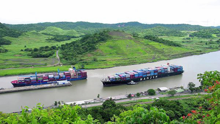 Wider Panama Canal threatens transcontinental road and rail volume