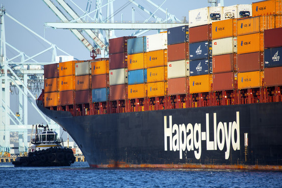 Hapag-Lloyd's container market share in Canada increases to 18pc