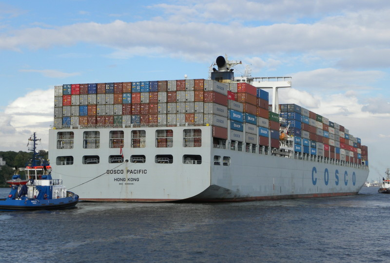 Cosco Pacific June volumes up 4.5pc to 8m TEU