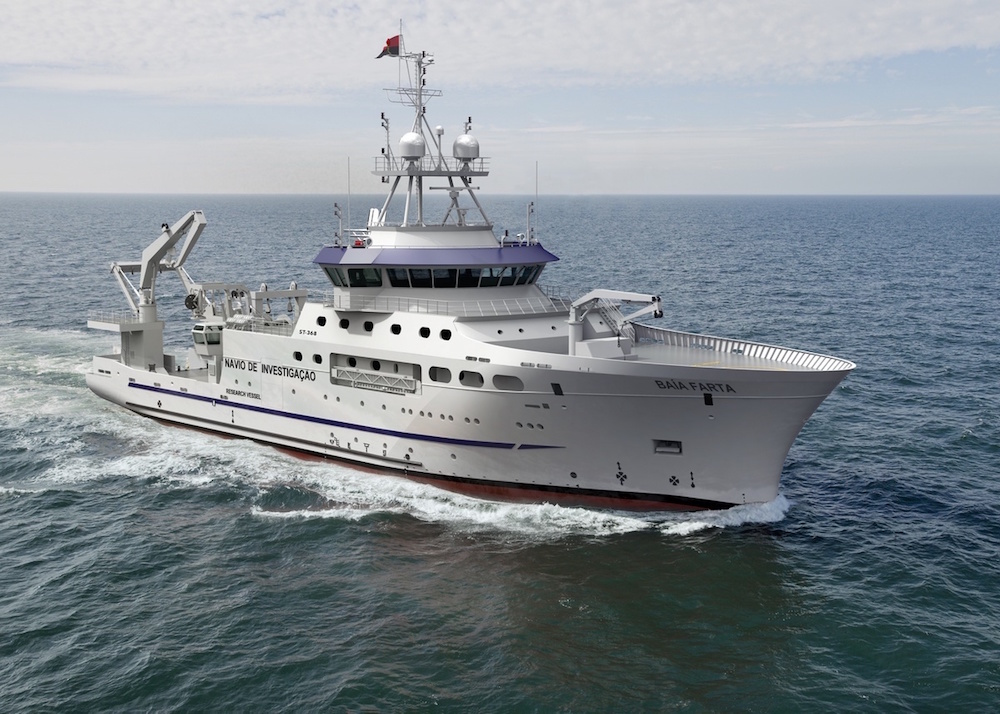 Angola orders state-of-the-art Damen Fishery Research Vessel