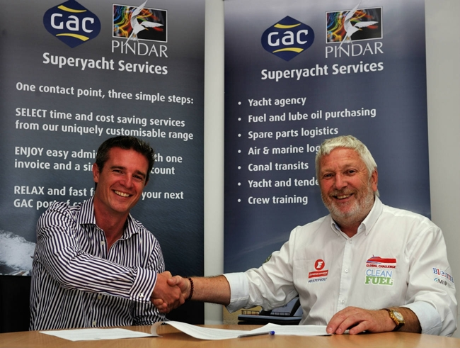 GAC to handle logistics for Team Britannia during round-the-world powerboat attempt