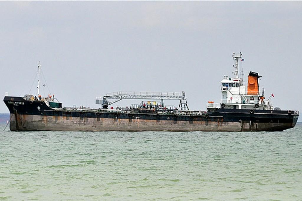 "The ""Kolin 5"" ran aground off Kepez Limani"