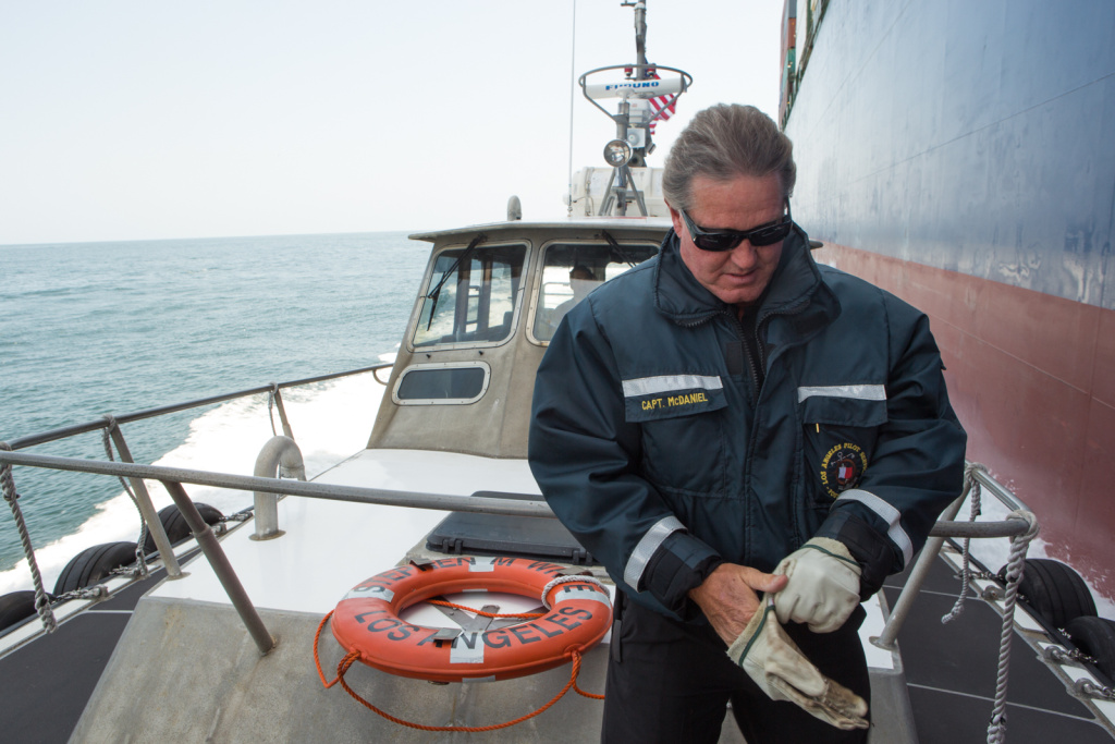 LA's port pilots earn US$450,000 a year - far higher than at other USWC ports