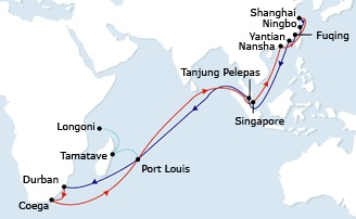 CMA CGM hikes FE-South Africa rate US$500-$600/TEU from September