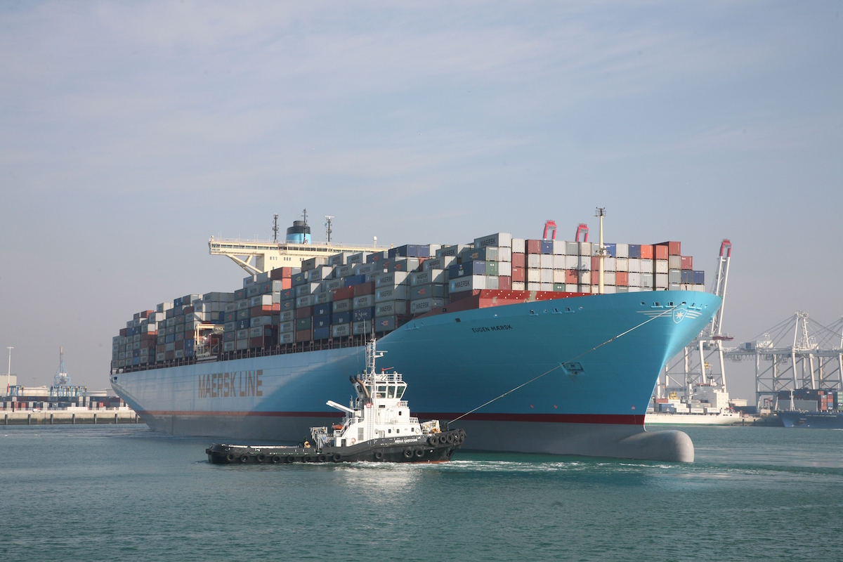 Maersk upgrades E-class containerships to boost capacity by 1,300 TEU