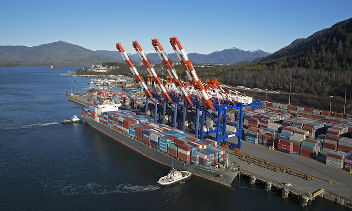 First half at top North America seaports turns flat