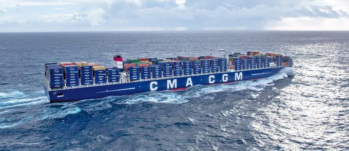 Belgian port of Zeebrugge cut from CMA CGM mega ship FAL 1 service