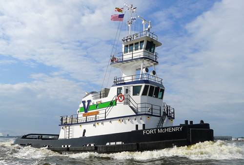 M/Tug Fort McHenry: Vane Brothers' New 3,000hp Tug