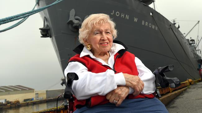 Helen Bentley, an advocate of US maritime industry, dies aged 92