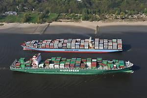 No sign of dredging in the Elbe despite surge in mega ships in Port of Hamburg